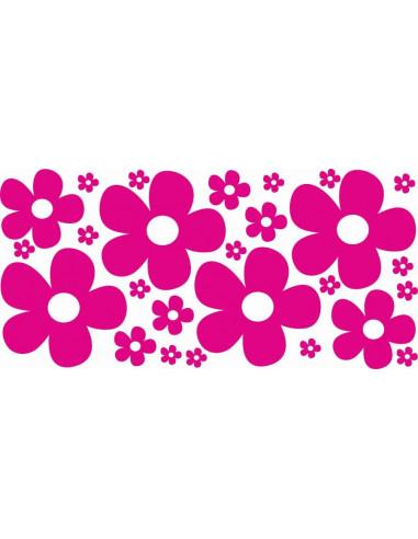 Naklejki na ścianę do pokoju dziecka - Kwiatki 1194