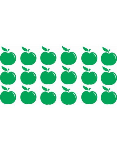 Naklejki na ścianę do pokoju dziecka - Jabłka 1199