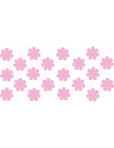 Naklejki na ścianę do pokoju dziecka - Kwiatki 1204
