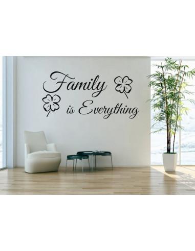 family is everything 376 mocnaklejek. Black Bedroom Furniture Sets. Home Design Ideas