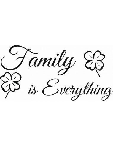 naklejka na ścianę Family is Everything 376