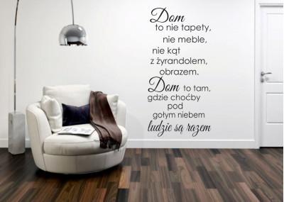 Dom to nie tapety nie meble nie kąt z żyrandolem obrazem 384