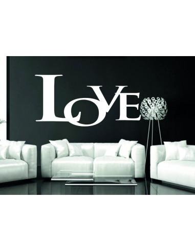 Naklejka ścienna Love 395