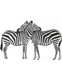 Naklejka na ścianę zwierzęta afrykańskie zerby 1050