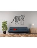 naklejka na ścianę zwierzęta afrykańskie tygrys 1051