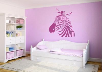 naklejka na ścianę zwierzęta afryka zebra 1054