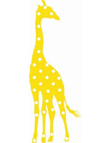 Naklejka na ścianę do pokoju dziecięcego żyrafa 1063