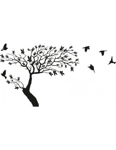 naklejka drzewo 1501