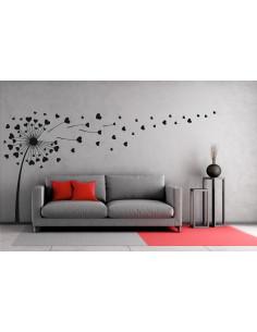 dekoracja na ścianę dmuchawiec 456