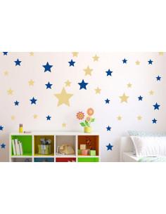 Naklejki na ścianę - gwiazdki
