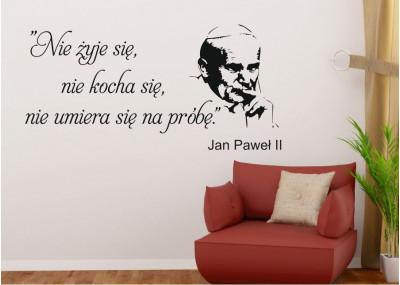 naklejka na ścianę Jan Paweł ll