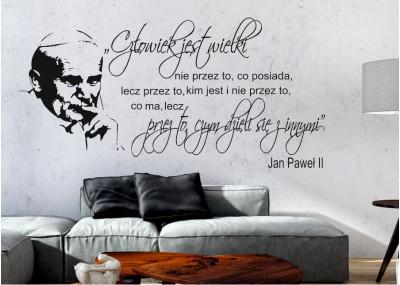 Cytat Jan Paweł ll Człowiek jest wielki
