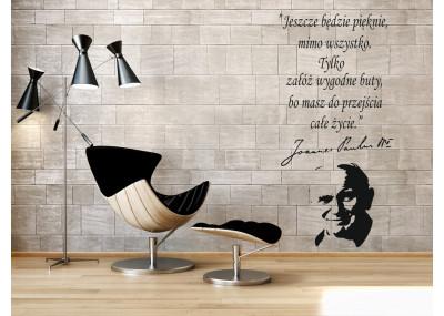 cytat na ścianę Jan Paweł ll Jeszcze będzie pięknie 420