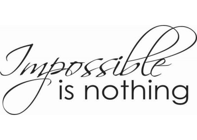 Impossible is nothing 64
