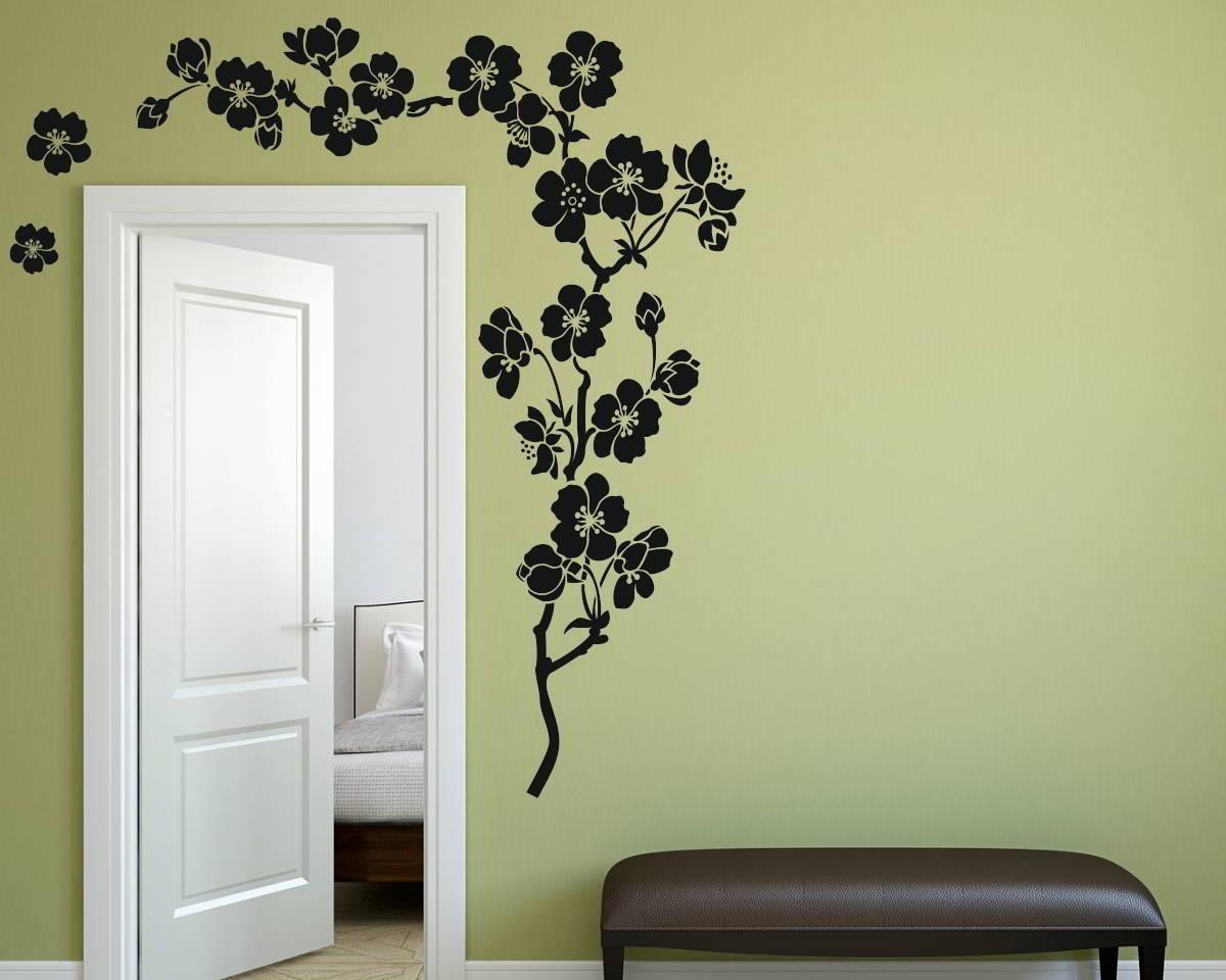 Naklejka Dekoracyjna Motyw Kwiatowy 1507 Mocnaklejek