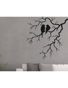 Ptaki na gałęzi naklejka ścienna 1512