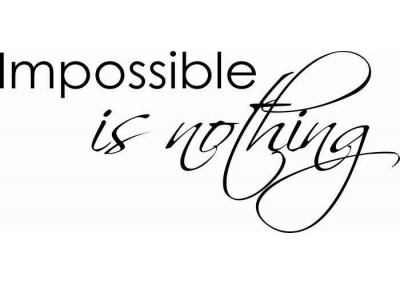 Impossible is nothing 65