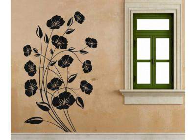 naklejka dekoracyjne kwiaty 1514