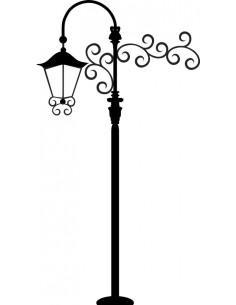Naklejka latarnia uliczna 1450