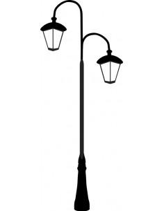 Uliczna latarnia