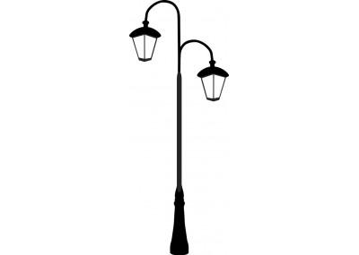 Uliczna latarnia 1451