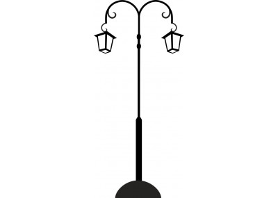 naklejka latarnia 1452