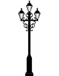 Naklejka latarnia uliczna