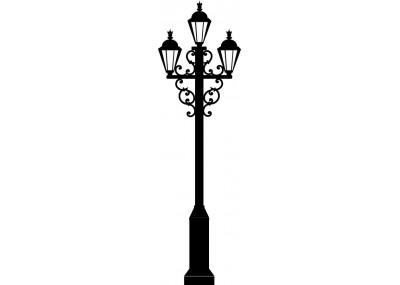Naklejka latarnia uliczna 1453