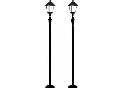 Naklejka na ścianę latarnia uliczna 1455