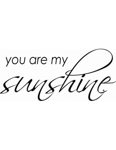 You are my sunshine 66