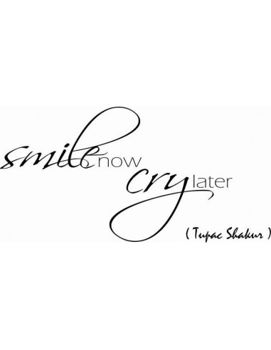 Smile now cry later tupac 79