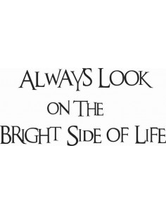 Always look on the bright side of life 101