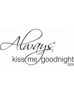 Always kiss me goodnight 159