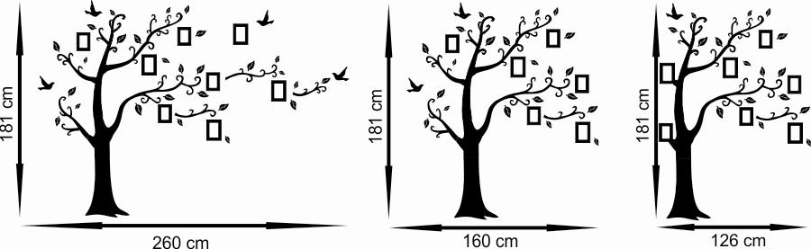 Naklejka drzewo genealogiczne
